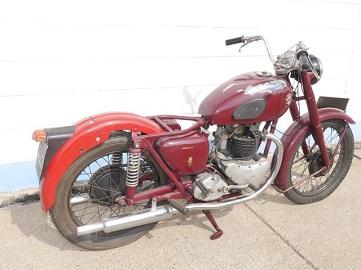1954 ariel huntmaster 650 twin  restoration candidate: not running